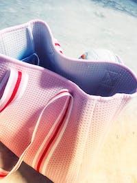 Ava (Pink) Neoprene Tote Bag