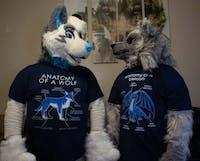 Anatomy of wolf (Blue)