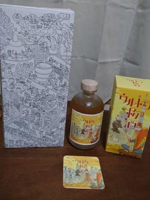 ウルトラ梅酒 ~とろとろの夕暮れ@東京タワー~ 500ml コースター付