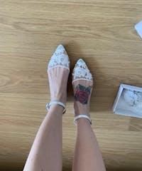 Lace Bridal Satin - Ballerina