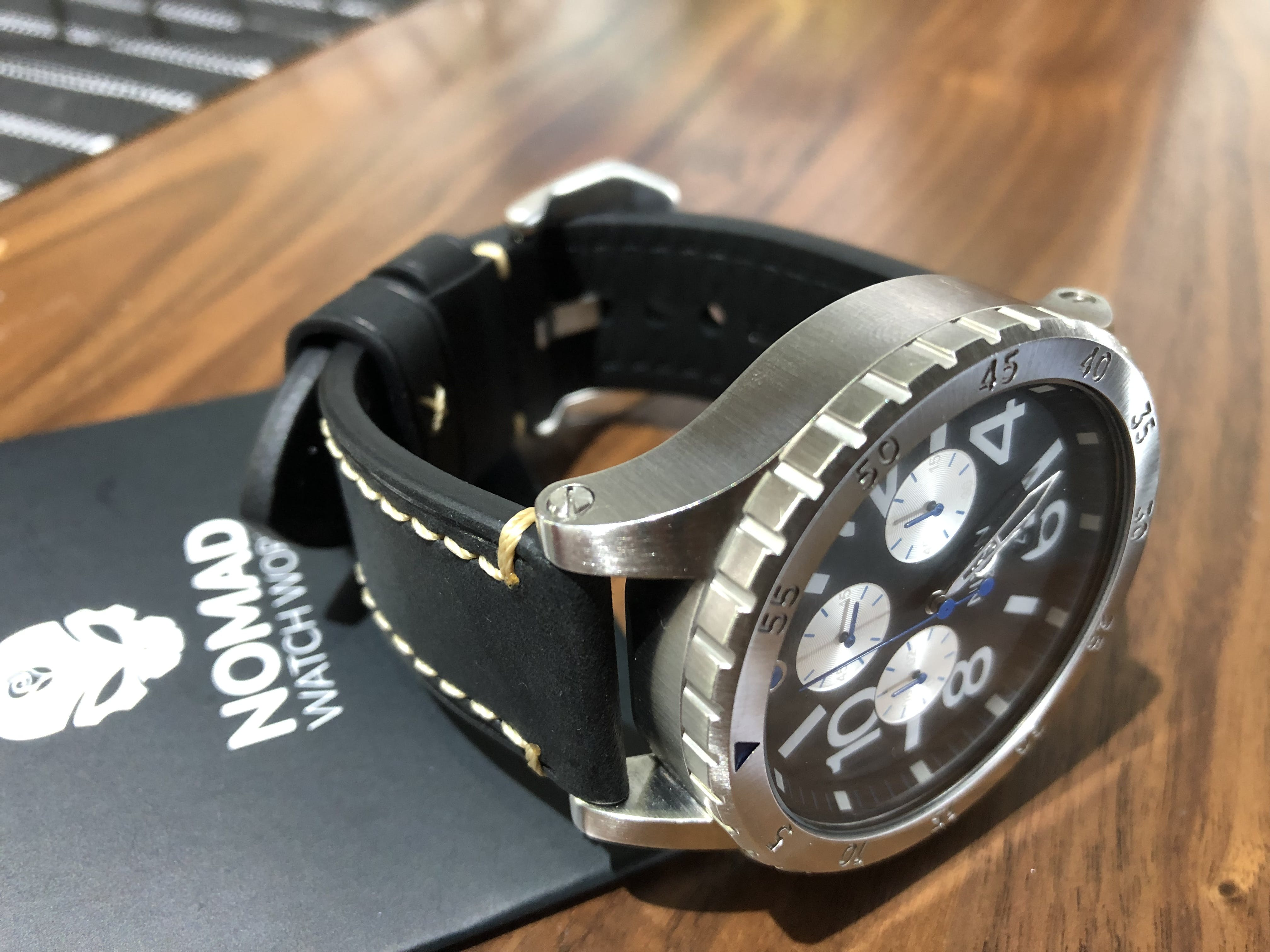 3bd9b8f3c This vintage leather strap are good combination with my Nixon watch. Looks  and feel good.
