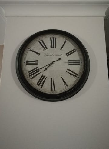 Casa Uno Grand Central Wall Clock, 63cm