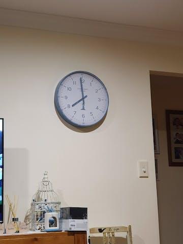 Thomas Kent Crofter Wall Clock, Sea Blue, 41cm