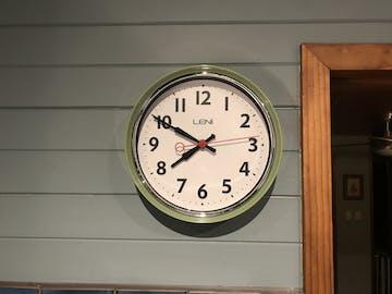Leni Essential Wall Clock, Bitter Lemon, 22cm