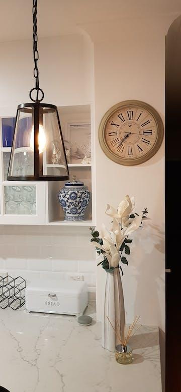 Paisley Vintage Roman Wall Clock, Cream, 40cm
