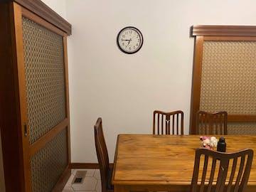 Hershy Classic Wall Clock, Brown, 38cm