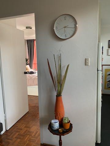 TFA Adrian Copper Frame Wall Clock, 30cm