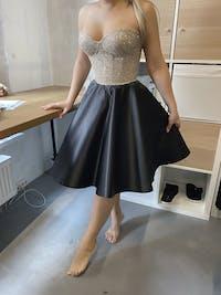 Short Satin Party Dress Coco
