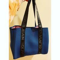 Olivia Jean (Blue) Signature Neoprene Bag