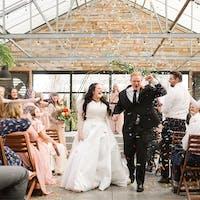 A-line mikado wedding dress Koussindy