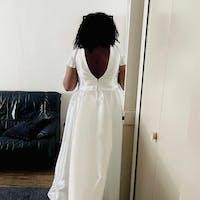 Plus size mikado wedding dress Ester