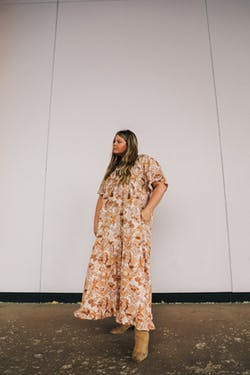 PLUS SIZE - Beauregard Dress