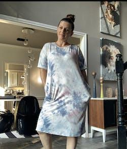 EXCLUSIVE - Vivian Tie-Dye Dress - 2 Colors