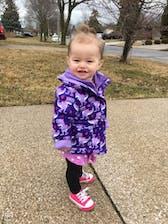 Car Seat Safety Road Coat®Vegan Jacket - Purple Raptor