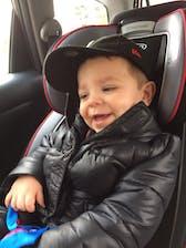 Car Seat Safety Road Coat®Vegan Jacket - Platinum
