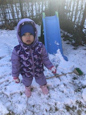 Soft Pack-able Snow Pant - Violet