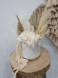Bernadita Pot - Raw White
