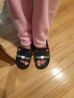 Cat Design Indoor Slippers