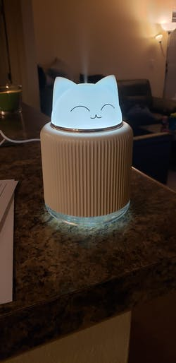 Cat Shaped Ultrasonic Oil Essential Diffuser
