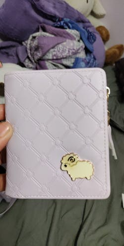 Cute Sheep Pattern Wallet