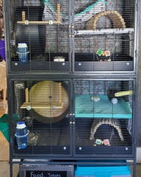 "*4"" TALL* Pet Revolution® Single Unit SCATTER GUARDS for Critter Nation & Ferret Nation Cages"