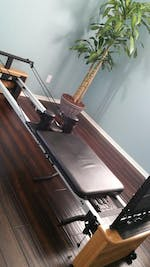 AeroPilates Pro XP 557 Pilates Reformer with Rebounder