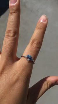 Airplane Ring 925 Sterling Silver