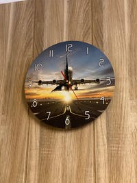 Classic Altimeter Round Wall Clock