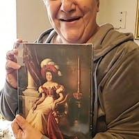 Princess Augusta personalized female portrait