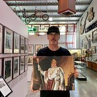 Napoleon Bonaparte Regal male portrait