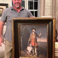 Hales Place personalized male portrait