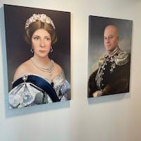 Princess Charlotte personalized female portrait