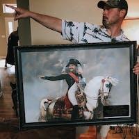Napoleon Bonaparte 1812 male portrait