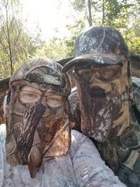 Mossy Oak Break Up | Camo Hat and Front Face Concealment (One Size Fits Most)