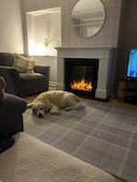 Celsi Ultiflame VR Adour Asencio Illumia Suite Electric Fireplace Suite