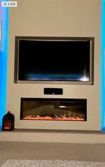 Celsi Electriflame VR Commodus Inset Electric Fireplace