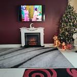 Suncrest Talent 47 inch Electric Fireplace Suite