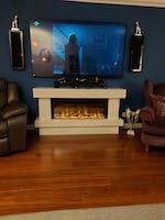 Celsi Electriflame VR Orbital 1000 Illumia Electric Fireplace Suite