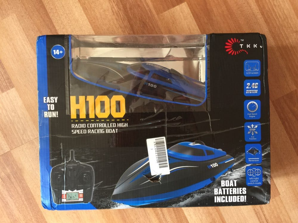 Skytech H100® RC Jet Boat – Radio Control Racing Boat