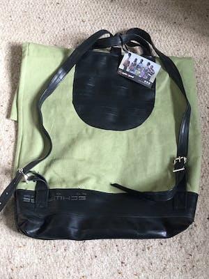 Organic Canvas and Inner Tube Rucksack/Backpack