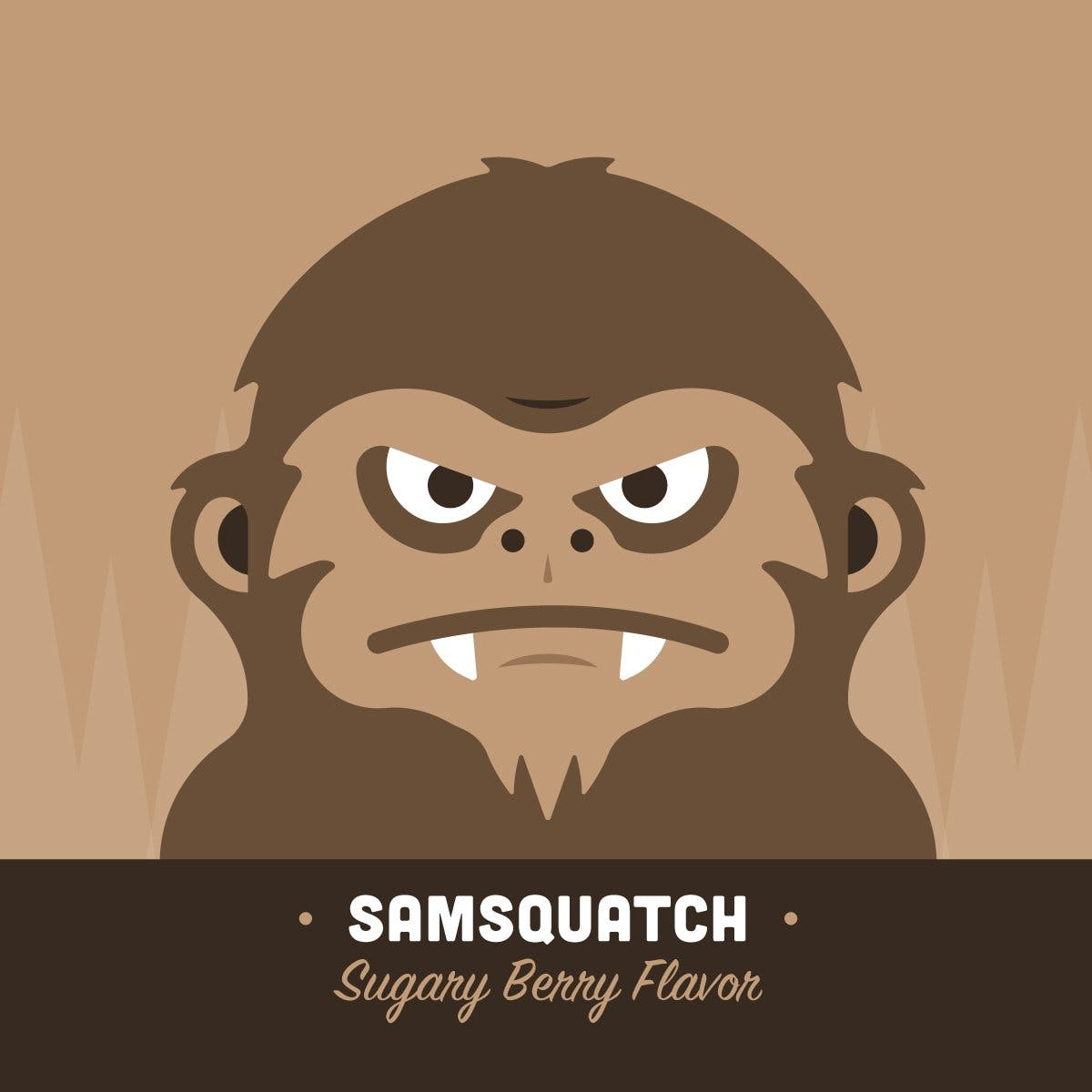 Samsquanch eLiquid & eJuice | Rasta Vapors