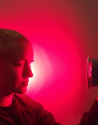 Mini Red Light Therapy Device