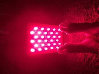 Targeted Red Light Therapy Device