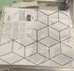 Cube Pattern 2D Peel and Stick Tiles