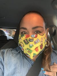Face Mask: Boricua No. 1 (One Size) - Limited Edition