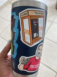 Teléfono Público de PR (Premium Sticker)