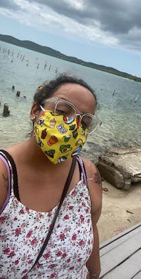 Face Mask: Boricua Yellow (One Size) - Limited Edition
