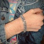 Ominous Visions Bracelet in Platinum