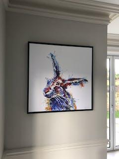 Burberry Framed Canvas