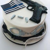 GUN & BULLETS PLASTIC MOLD